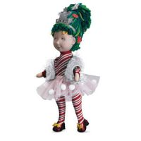 Fancy Nancy Snowflake Cloth Doll