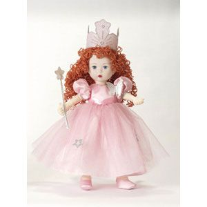 Wizard of Oz Glinda the Good Witch Cloth Doll