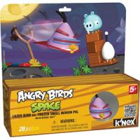 Angry Birds Space Lazer Bird vs. Frozen Small Minion Pig Building Set