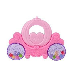Disney Princess Coach Rattle