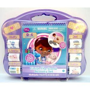 Doc McStuffins Finish the Scene Activity Set