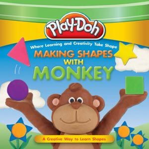 Play-Doh: Making Shapes with Monkey