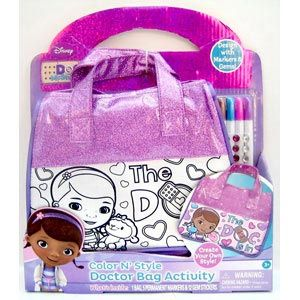 Doc McStuffins Color N' Style Doctor Bag Activity