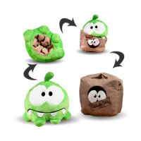 Cut the Rope Reversible Plush-Sad/Box