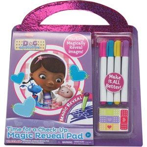 Doc McStuffins Time for a Check-Up Magic Reveal Pad