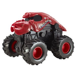 Hot Wheels Monster Jam Rev Tredz Crushstation
