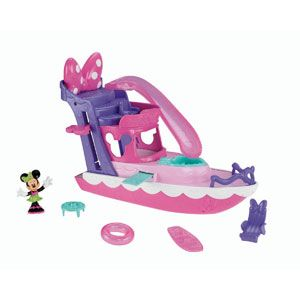 Minnie Mouse Bow-tique Minnie's Polka Dot Yacht