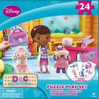 Doc McStuffins Puzzle Play Set