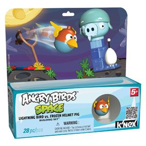 Angry Birds Space Lightning Bird vs. Frozen Helmet Pig Building Set