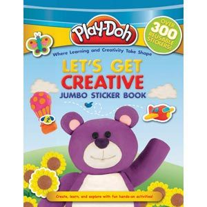Play-Doh Jumbo Sticker Book: Let's Get Creative