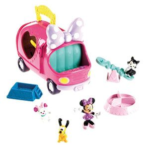 Minnie Mouse Bow-tique Minnie's Pet Tour Van