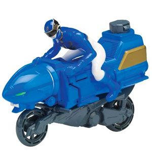 Power Rangers Megaforce Sea Lion Blue Ranger Cycle