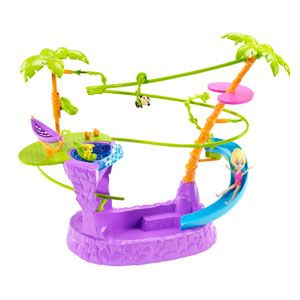 Polly Pocket Zipline Adventure Pool