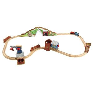 Thomas & Friends Wooden Railway Deluxe Tidmouth Timber Co.