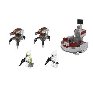 LEGO Star Wars Clone Troopers vs. Droidekas
