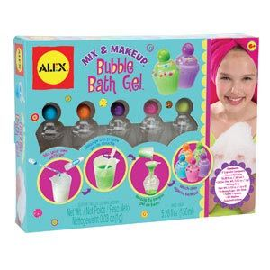 Mix & Makeup Bubble Bath Gel