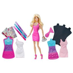 Barbie Fashion Design Plates
