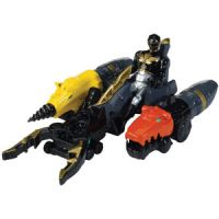 Power Rangers Megaforce Land Brothers Zord Vehicle & Black Ranger