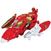 Power Rangers Megaforce Sky Brothers Zord Vehicle & Red Ranger