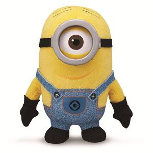 Despicable Me 2 Plush Buddy Minion Stuart