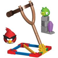 Angry Birds Space Super Red Bird vs. Small Minion Pig