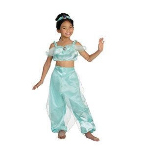 Jasmine Quality Child Costume