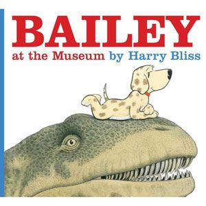 Bailey at the Museum