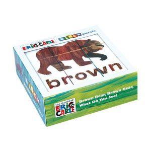 Brown Bear, Brown Bear, What Do You See? Block Puzzle