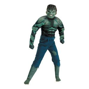 Hulk Movie Quality Muscle Child Costume