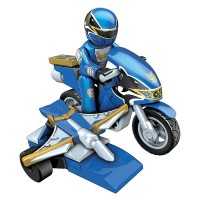 Power Rangers Megaforce Blue Ranger Hero Racer
