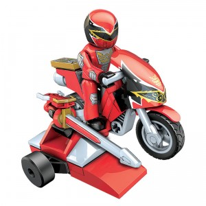 Power Rangers Megaforce Red Ranger Hero Racer