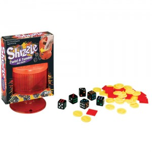 Shizzle Twist & Tumble Dice Game