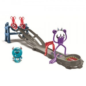 Monsters University Roll-a-Scare Toxic Race Playset