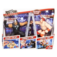 WWE Power Slammers Dynamite Driving Rey Mysterio and Thunder Twisting Sheamus