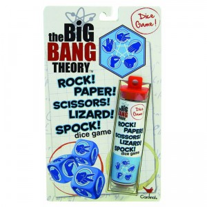 The Big Bang Theory Rock! Paper! Scissors! Lizard! Spock! Dice Game