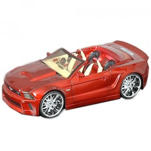 DUB Garage Die-Cast Metal Collection Ford Mustang Convertible
