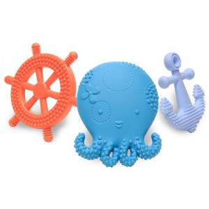 Suri the Octopus and Friends Teething Toys