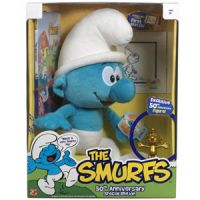 The Smurfs 50th Anniversary Stuffed Animals
