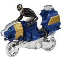 Power Rangers Megaforce Sea Lion Black Ranger Cycle