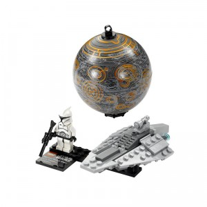 LEGO Star Wars Republic Assault Ship & Coruscant