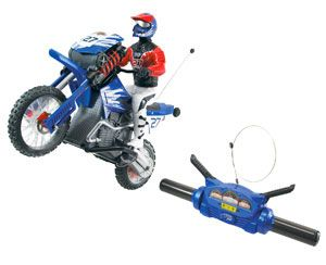 Tyco RC Turbo Pro Wheelie Cycle