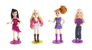Polly Pocket Pop 'n Swap Fashion Dolls