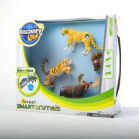 Discovery Kids Forest Smart Animals-Four-Pack