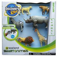 Discovery Kids Grassland Smart Animals-Six-Pack