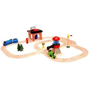 Thomas the Tank Sodor Engine Wash Train Set
