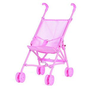 Pink Doll Umbrella Stroller