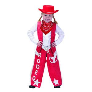 Jr. Cowgirl Costume