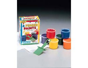 Washable Finger Paint Set