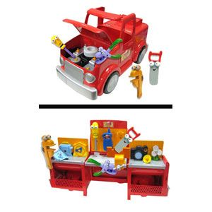 Handy Manny 2 In 1 Transforming Tool Truck From Fisher