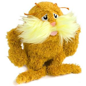 The Lorax Stuffed Animal